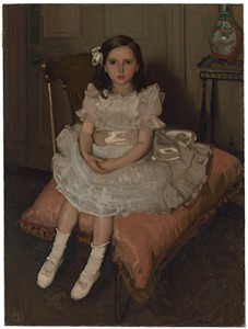 Hugh Ramsay, Miss Nellie Patterson 1903 oil on canvas, National Gallery of Australia, Canberra, Purchased 1966.