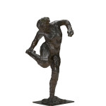 Edgar Degas Dancer looking at the sole of her right foot (Second study) c. 1900–10, cast 1919–37 or later bronze 47.3 x 24.3 x 20.8 cm Czestochowski/Pingeot 59 (cast T) National Gallery of Victoria, Melbourne Purchased with funds donated by Leigh Clifford AO and Sue Clifford, 2016