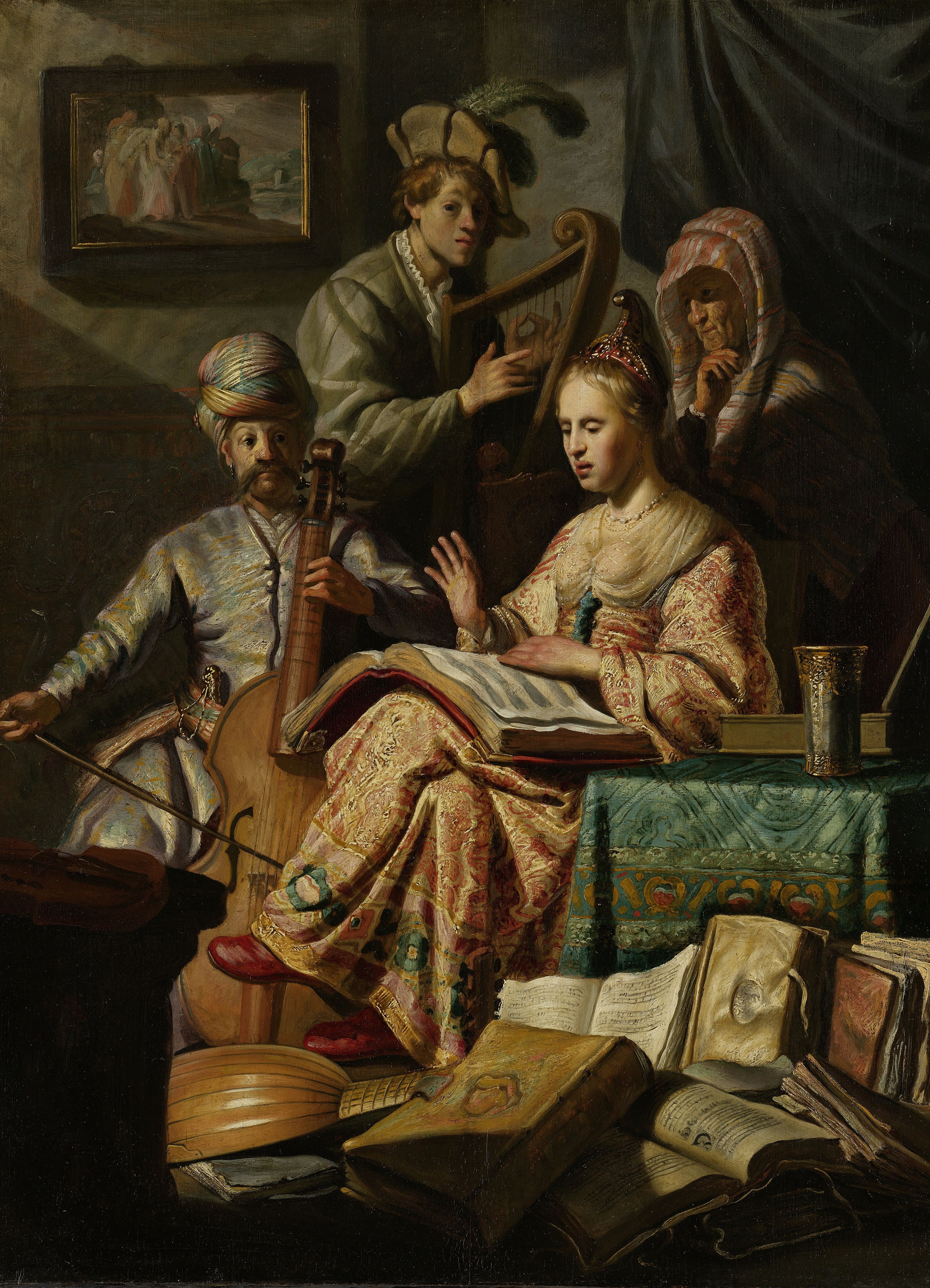 rembrandt_musical-allegory