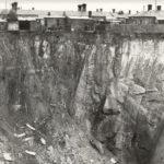 Image: John Glew's clay pit near Hodgson Street, Brunswick in operation between 1849-1857. Image courtesy of Moreland City Library, Brunswick.