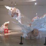 Image of Mu Boyan, Fatty Series, shown at the Eighth Shanghai Biennale in 2010