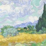Vincent van Gogh A wheatfield, with cypresses early September 1889 Saint-Rémy oil on canvas 72.1 x 90.9 cm F 615, JH 1755 National Gallery, London Bought, Courtauld Fund, 1923 (NG3861) © The National Gallery, London Photo: The National Gallery, London
