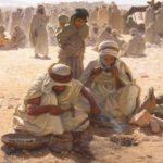 Thomas Sheard Great Britain 1866-1921 The Arab Blacksmith c.1900 oil on canvas 115.0 x 163.0 cm Purchased 1903 1903.1